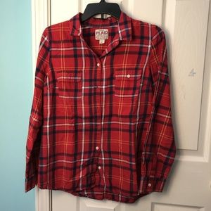 Old Navy Plaid long-sleeve